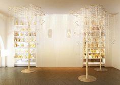 Le jardin des abeilles, projet de scénographie pour la boutique Guerlain des Champs-Elysées à Paris | Patrick Nadeau