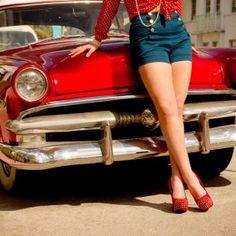 Classic car boudoir