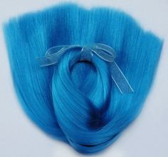 Doll Hair Dream Blue-Extralong 16-18 by Treasuresdolls on Etsy