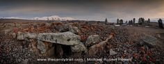 """Acknowledged as the """"worlds oldest observatory"""", Zorats Karer is a stone circle often-called the Armenian Stonehenge. Old Stone, Stonehenge, Armenia, Latin America, Amazing Places, Mount Everest, Exploring, The Good Place, Asia"""
