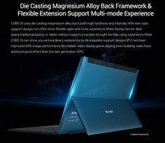 Cube I9 128GB Intel Core m3-6Y30 Dual Core 1.51-2.2GHz 12.2 Inch Windows 10 Tablet Sale - Banggood.com