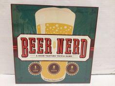 Beer Nerd Tasting Trivia Board Game New Sealed #BeerNerd