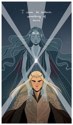 Thranduil and his wife. It's not like I needed my heart anyway