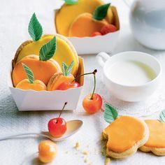 Recettes de petits sabés fruités en trompe l'œil - Recipe for optical illusion fruit biscuits - Marie Claire Idées
