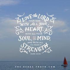 Mark 12 :30