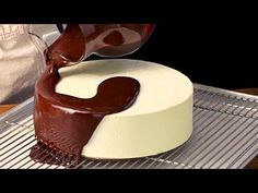 Amazing Cake Decoration And Production Process, Modern Food Processing Machines Inside Factory Cake Filling Recipes, Cake Recipes, Chocolate Lovers, Chocolate Cake, Most Satisfying Video Ever, Modern Food, Fondant, Cake Fillings, Cake Decorating Tips
