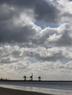 Aberavon Docks' Cranes, Port Talbot, South Wales