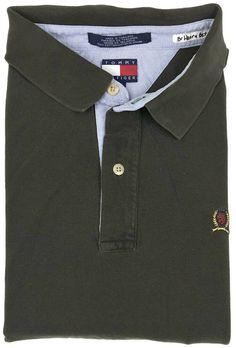 225c6c02f Vintage Tommy Hilfiger Polo Shirt 4XL Mens Short Sleeve Pique Crest Logo  Size Sz  TommyHilfiger