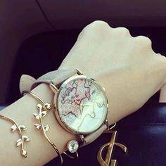 Fashion watches 2019 Women's watches - L & # atelier Trendy - Women's watches Fashio Women Accessories, Jewelry Accessories, Fashion Accessories, Jewelry Design, Women Jewelry, Fashion Jewelry, Women's Fashion, Rose Gold Jewelry, Dainty Jewelry
