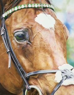 Soul of a Champion FRANKEL Print - Limited Edition Horse Racing Painting by Artist Joanna Stribbling