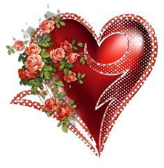 Srdíčka dekorativní | Tvoření Clipart, Happy Valentines Day, Pretty, Blog, Cards, Album, Hearts, Heart Gif, Blogging