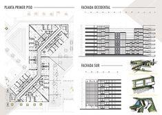 Portafolio Maria Camila Arango on Behance Architecture Portfolio Layout, Revit Architecture, House Architecture, Autocad, Editorial Design, Adobe, Floor Plans, Behance, Flats