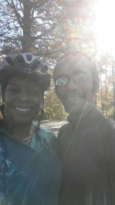 On, November 16th, just 4 days before my birthday, I accomplished my second personal goal, learning to ride a bike. I was blessed to have my instructor, Sage, to guide me toward achieving this lifelong goal. I was so emotional that when I finally pushed off the pedals that I cried. #nevertoolatetolearn