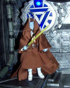 Star Wars Clone Wars Chagrian Jedi Master Hirosha Tagron custom figure #StarWars