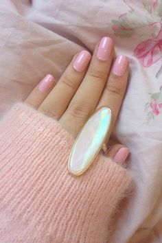 Pretty pink nail polish inspiration!