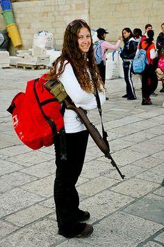 Jerusalem, Old City - Kotel. The new kind of tourism these days!