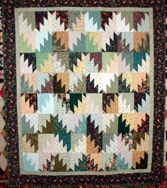 Quiltville's Quips  Snips!!: Scrappy Mountain Majesties!