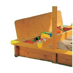 Coffre à jouets pour bac à sable RETRACT