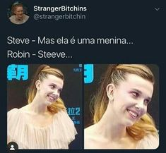 Foto Gif, Strangers Things, Stranger Things Netflix, Strange Things, Cute Things, Baby Potatoes, Funny Laughter Quotes