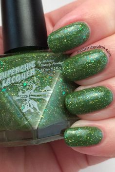 Hey, I found this really awesome Etsy listing at https://www.etsy.com/listing/188613369/never-grow-up-nail-polish-green-blue
