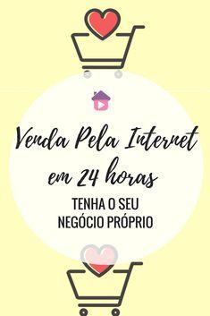 Venda pela internet e tenha o seu home office. Trabalhar em Casa pela internet. #trabalharemcasa #internetmarketing #internet #homeoffice #trabalho  #ganhardinheiro