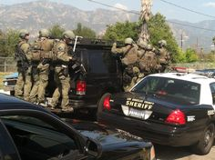 March 29, 2013. Deputies from the Altadena Sheriff's Station along with the Federal Bureau of Investigations served a search warrant in Altadena. Numerous people were detained and the primary suspect was arrested for weapons violation. More Photos: https://www.facebook.com/media/set/?set=a.597103556983996.1073741830.460414603986226&type=3