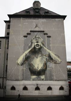 Faith47 New Mural In Vienna, Austria StreetArtNews