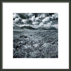 Land Shapes 24 Framed Print By Priska Wettstein #Yukon #BlackAndWhite #series #wilderness #travel #north #landscapes #LargerThanLife