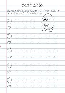 Atividade Pontilhadas para Cobrir: Atividade Vogal O pontilhada para imprimir Alphabet Tracing Worksheets, Tracing Letters, Preschool Worksheets, Italian Language, Cursive, Bullet Journal, Teaching, Lettering, Writing