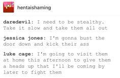 Luke Cage, Power Man, Jessica Jones, Jewel, Matt Murdock, Daredevil, marvel, mcu, avengers, the defenders