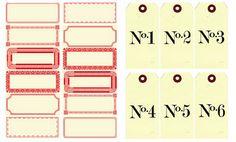 50  Free Printable Christmas Tags