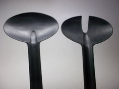 Rare Tapio Wirkkala Salad Servers Serving Spoons by RUBBEDEFFECT