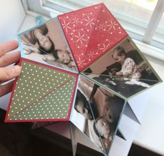 8x8 folding scrapbook