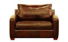 Boulder Chair Leather Sleeper Sofa