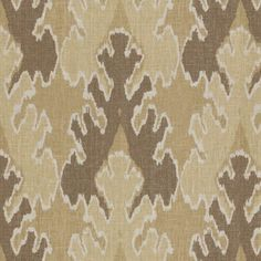 Groundworks Bengal Bazaar-Mushroom / Straw Decor Multipurpose Fabric