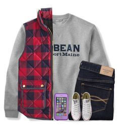 """""""Interviewed @theblonde07"""" by kaitlynbug1226 ❤ liked on Polyvore featuring J.Crew, Abercrombie & Fitch, LifeProof, Converse, women's clothing, women, female, woman, misses and juniors"""