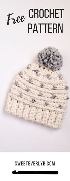 a99f2999c9e A Free Crochet Beanie Pattern The Whole Family Will Love