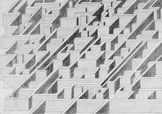 Parallelperspektive: Labyrinth