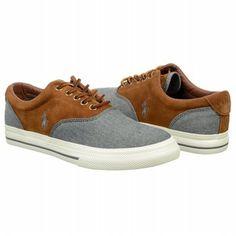 Polo by Ralph Lauren Men's Vaughn Saddle Sneaker at shoes.com