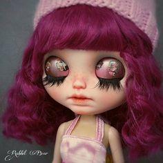 Meticulous style Ooak Custom Blythe Doll/Art by rabbitbearhouse