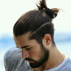 Man ponytail. Idea from the web.
