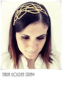 Tiara Golden Straw