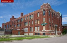 Abandoned East Catholic High School-Detroit,Michigan(St.Anthony High School was a Catholic school Located on Gratiot Ave. in Detroit.Later Renamed East Catholic,The School closed in 2006 and was abandoned.It was demolished in 2012)