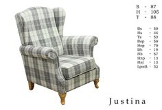 Fotel Justina - Dostawa Gratis - Nameblowej, nameblowej.pl | 164670 | MEBLE.pl