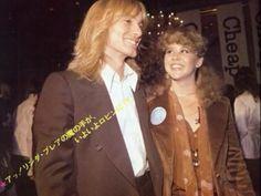 Robin Zander and Linda Blair
