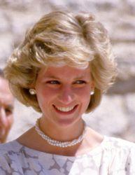 Princess Diana #pearls