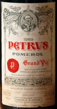 Petrus-1989 label vintage. vinos maximum