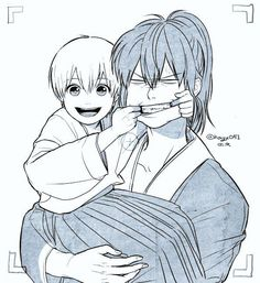 Shared by Shinigami Tayuu. Find images and videos about gintama, okita sougo and shinsengumi on We Heart It - the app to get lost in what you love. Manga Anime, Anime Art, Gintama, Character Art, Character Design, Otaku, Okikagu, Shinigami, Anime Love
