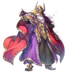 Emperor Vandole from Secret of Mana (Remake)