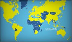 No McDo World Map